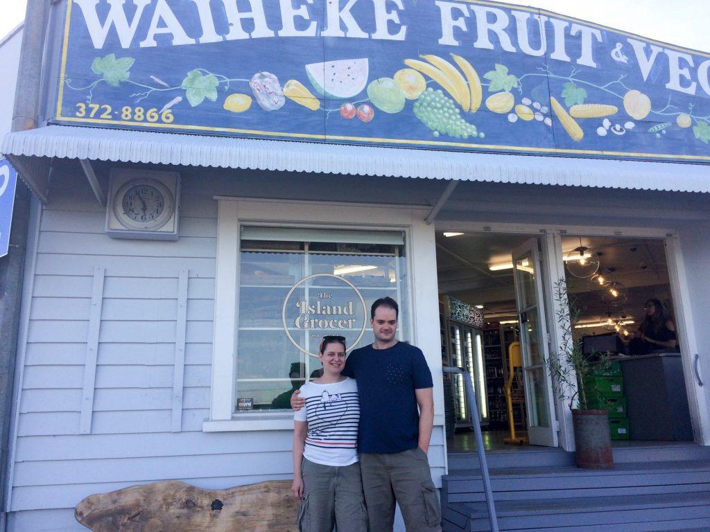 At the Waiheke Fuit and Veg Market, New Zealand