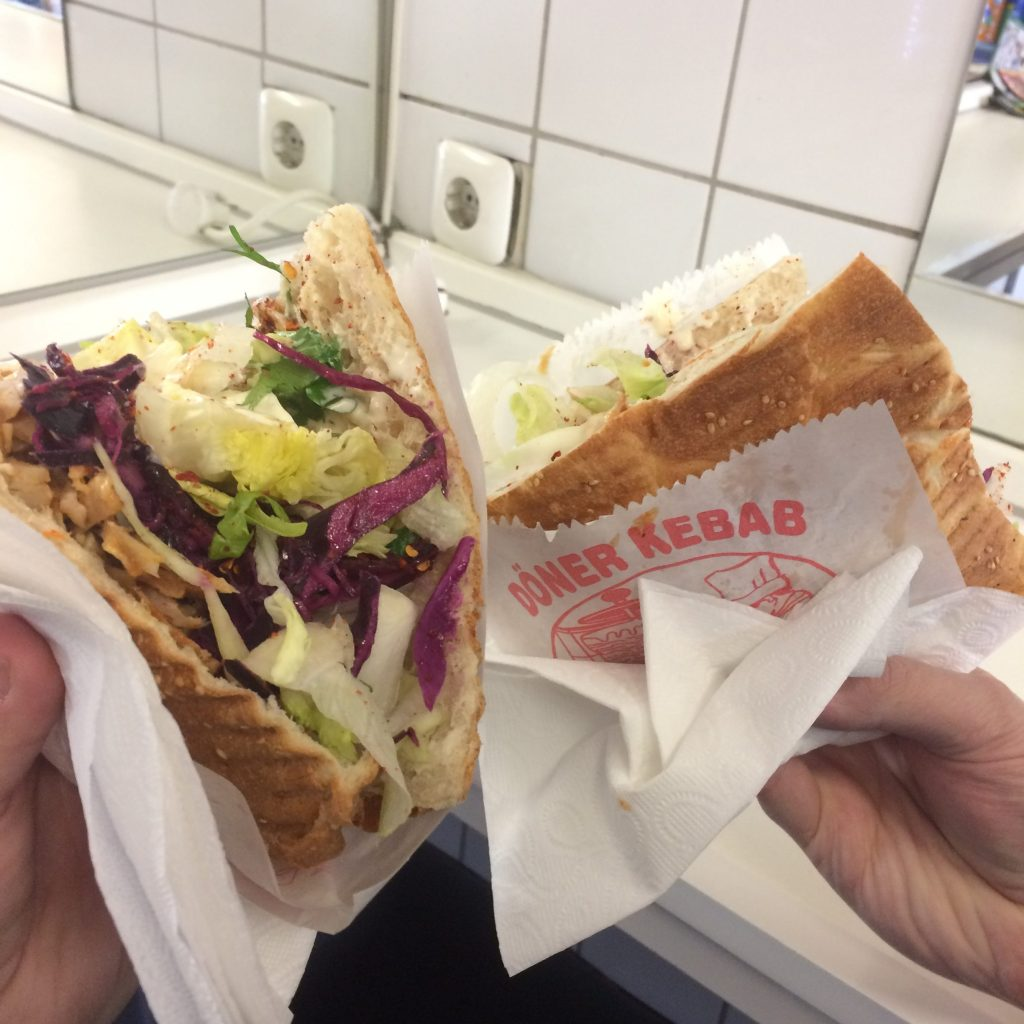 One of our long-time favorite Döner Kebabs in Köln, Germany