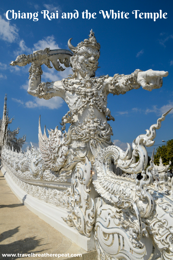 Chiang Rai and the White Temple in Thailand