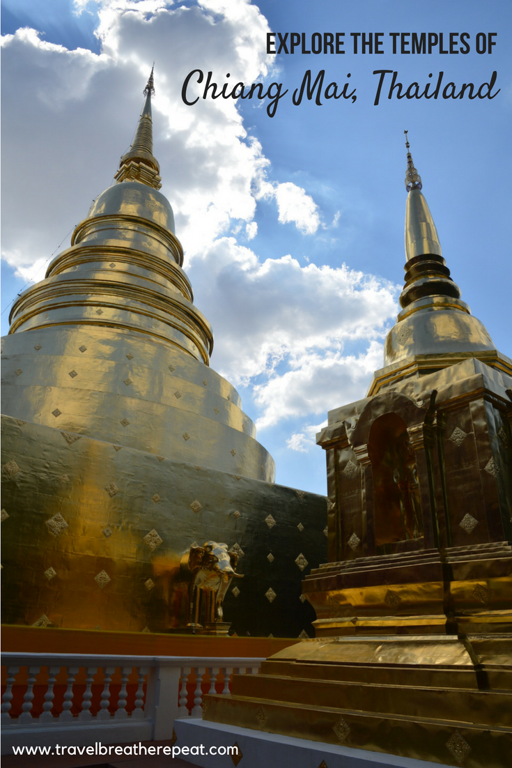 Explore the temples in Chiang Mai, Thailand