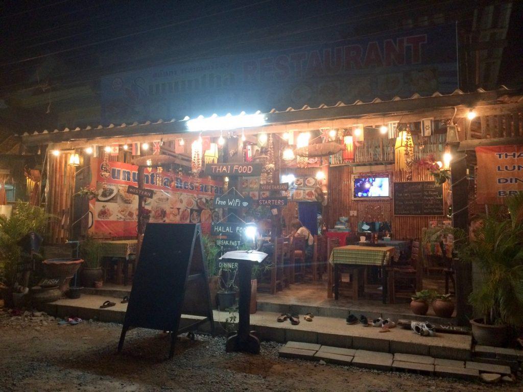 Sununtha Restaurant, Ko Lanta, Thailand