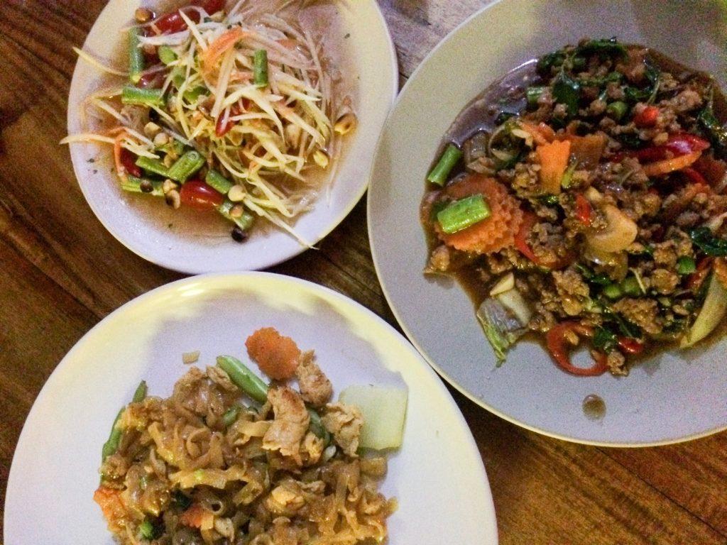 Food from May's Kitchen, Ko Lanta, Thailand