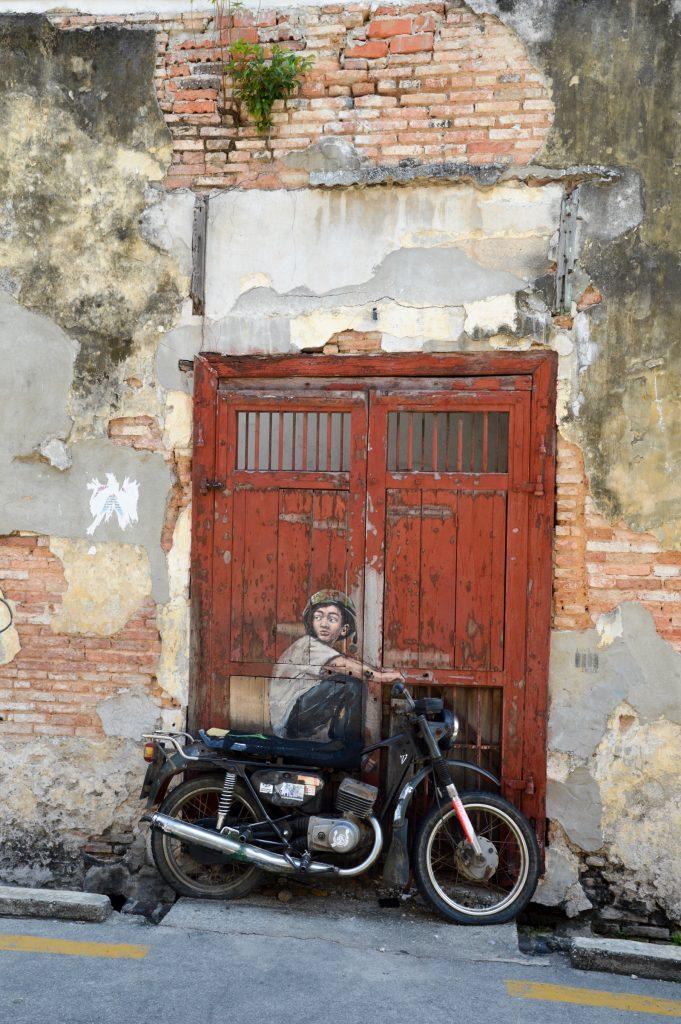 Street art, George Town, Malaysia