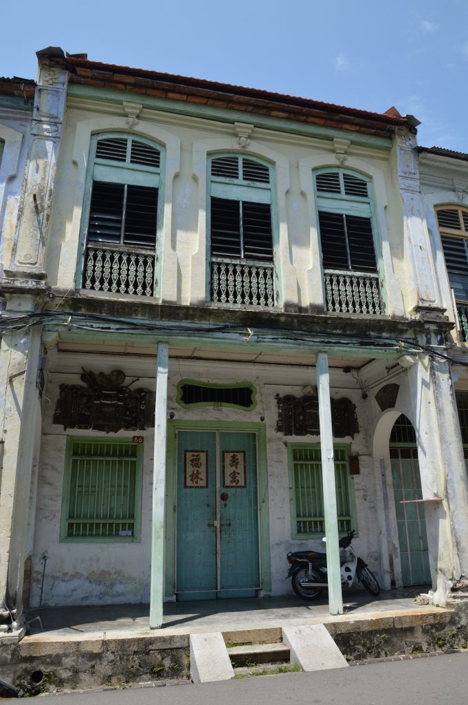 Building in George Town, Malaysia