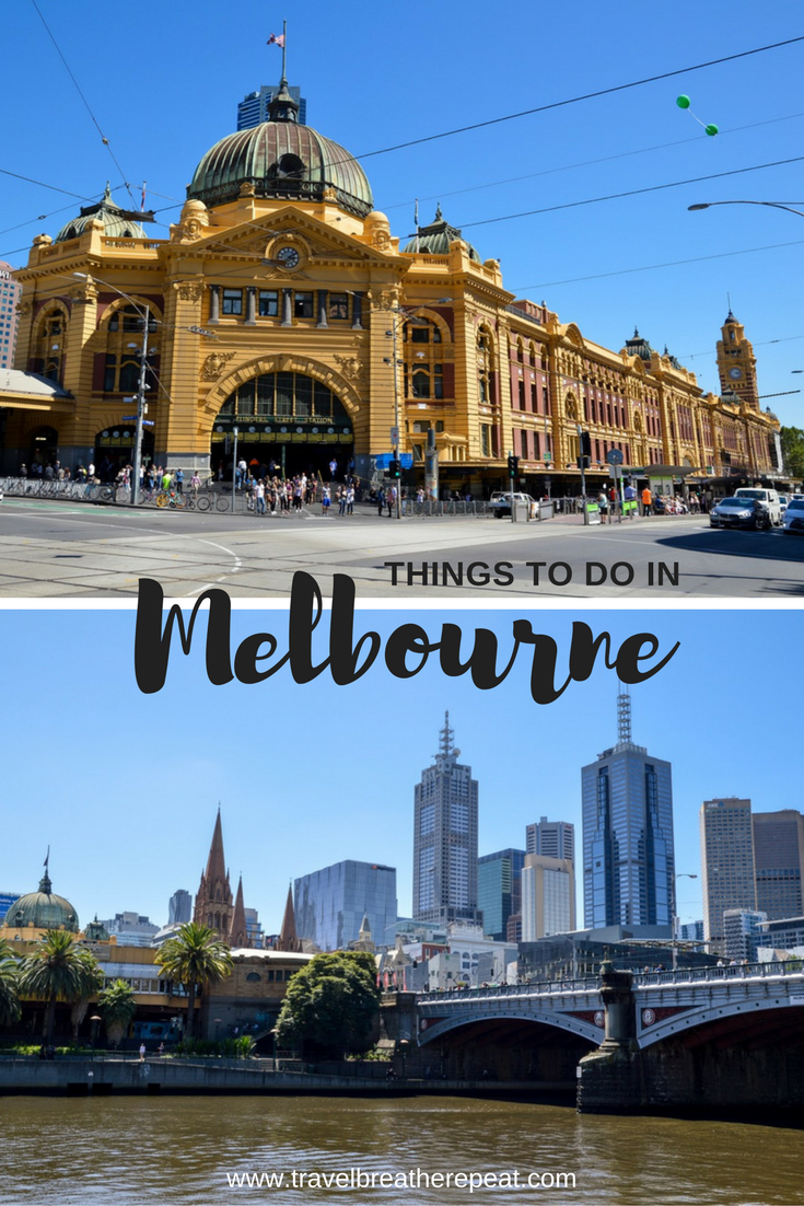 Things to do, see, and eat in Melbourne, Australia