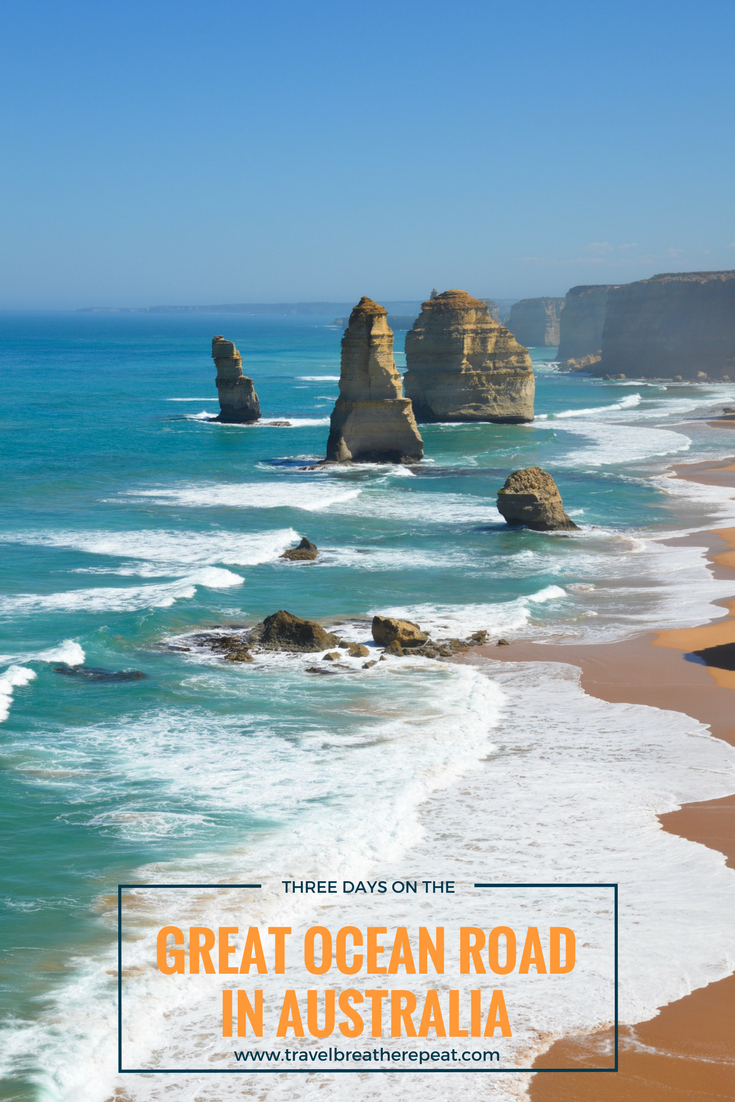 Three-day itinerary for the Great Ocean Road in Australia
