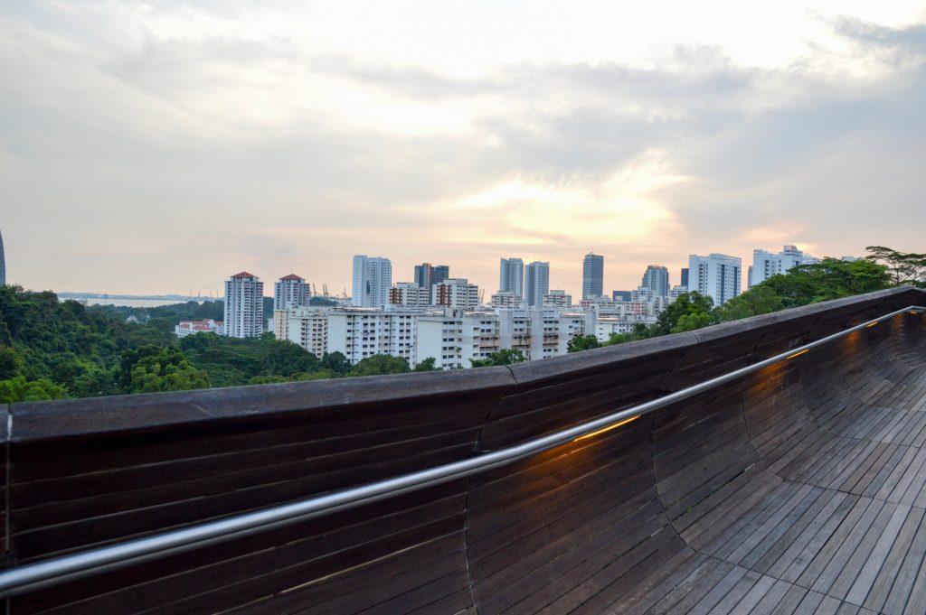 View from Henderson Waves Bridge, Singapore