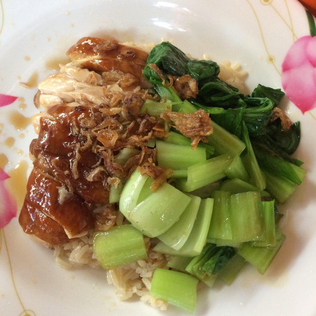 Hong Xiang Hainanese Chicken Rice, Maxwell Food Centre, Singapore