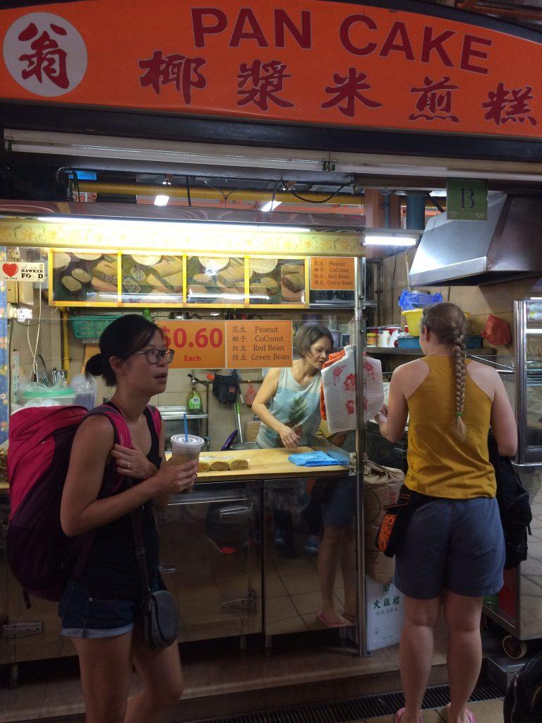 Peanut pancake stall, Maxwell Food Centre, Singapore