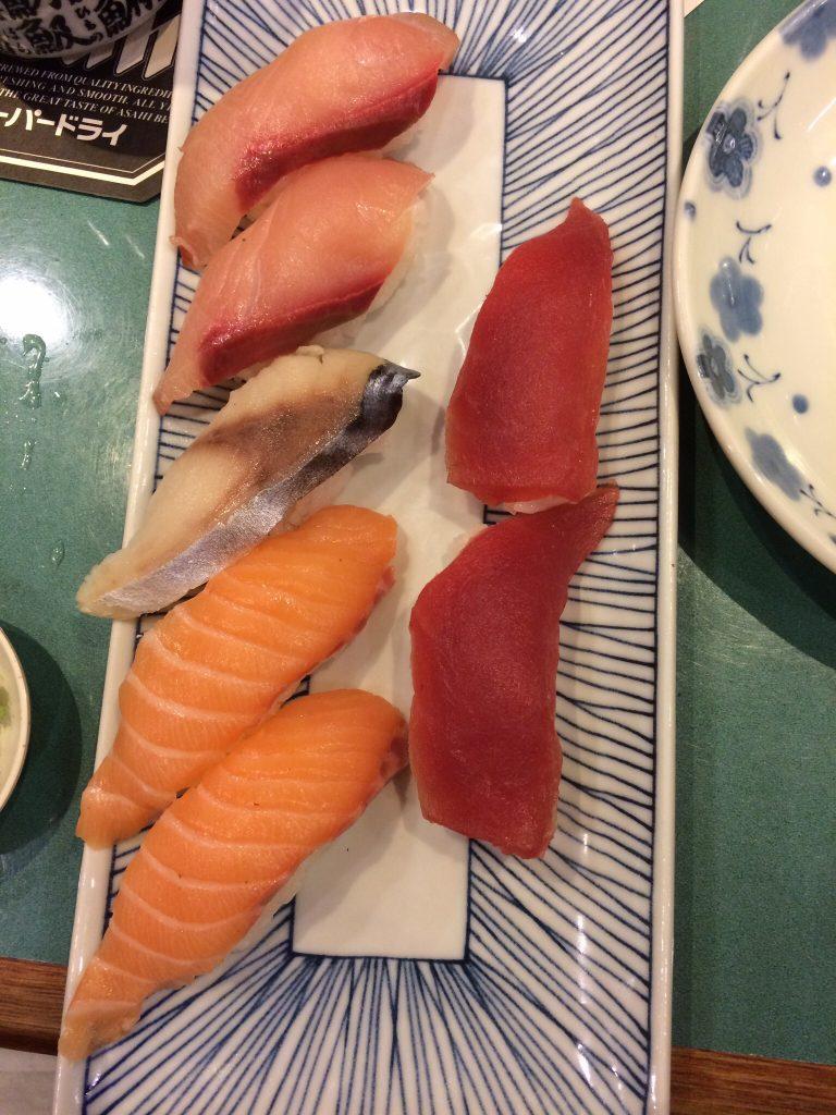 Sushi, Ikoi, Singapore