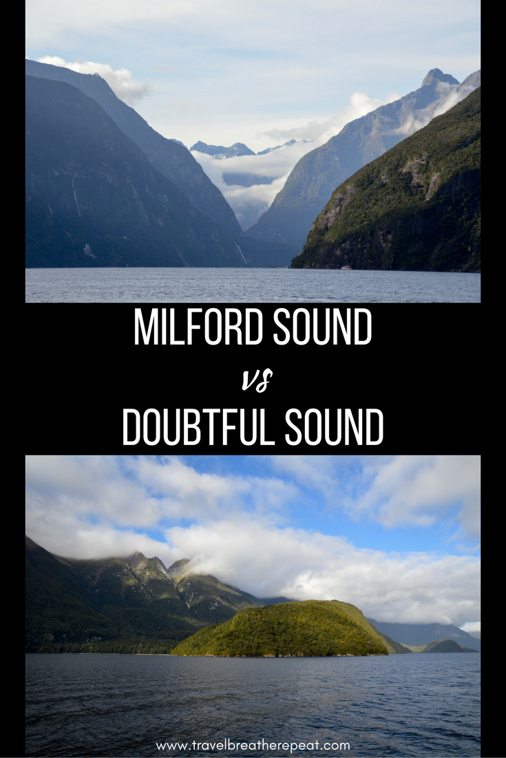 How to choose between Milford Sound and Doubtful Sound in New Zealand
