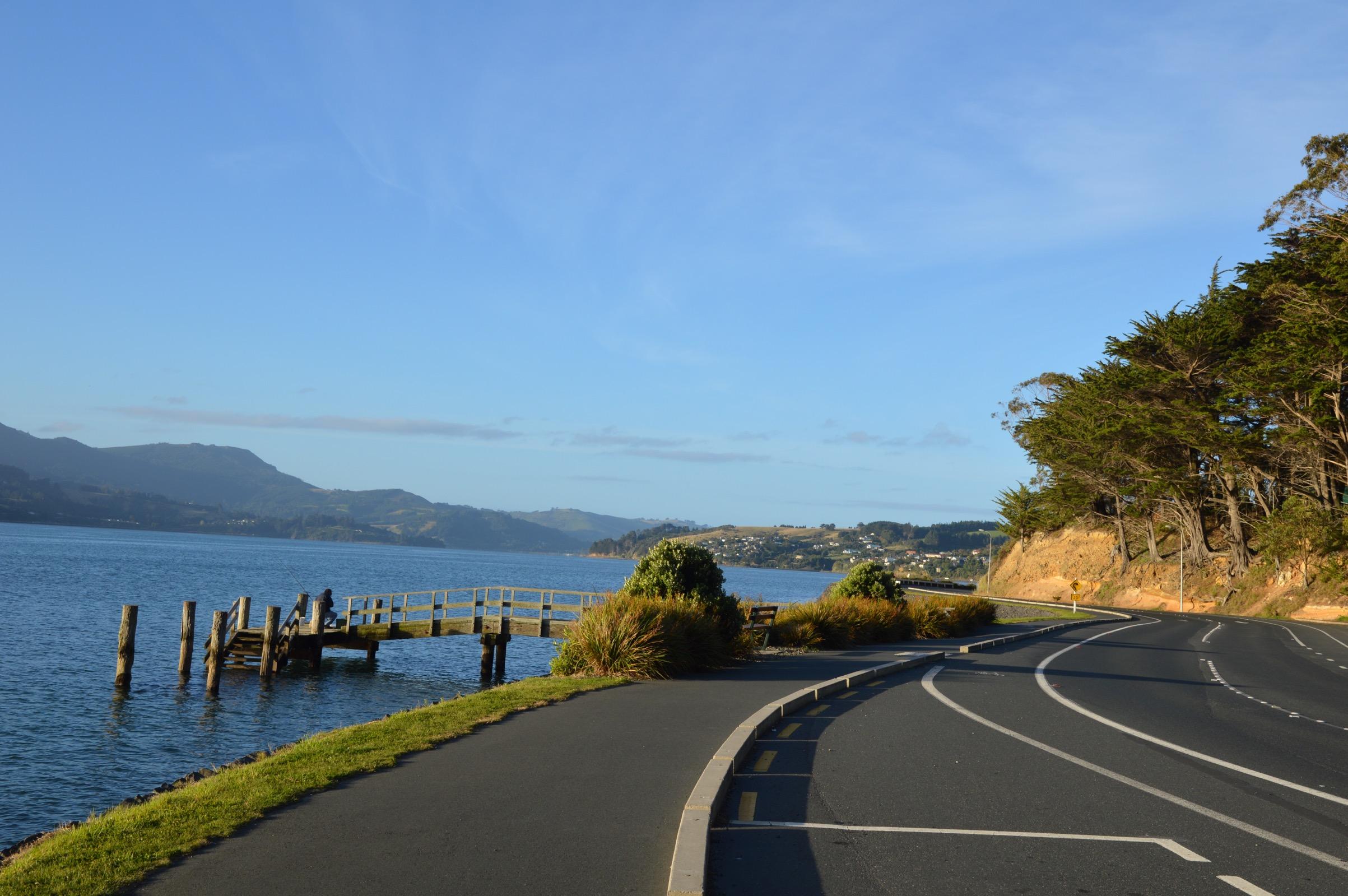 Portobello Road, Otago Peninsula, New Zealand