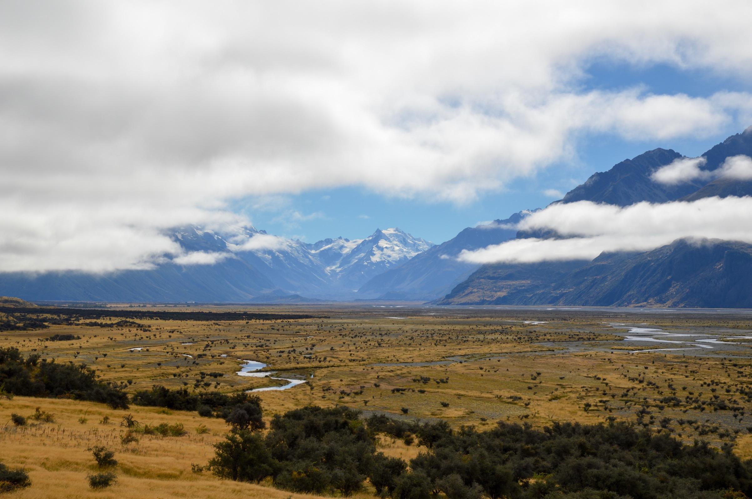 Aoraki/Mount Cook National Park, New Zealand