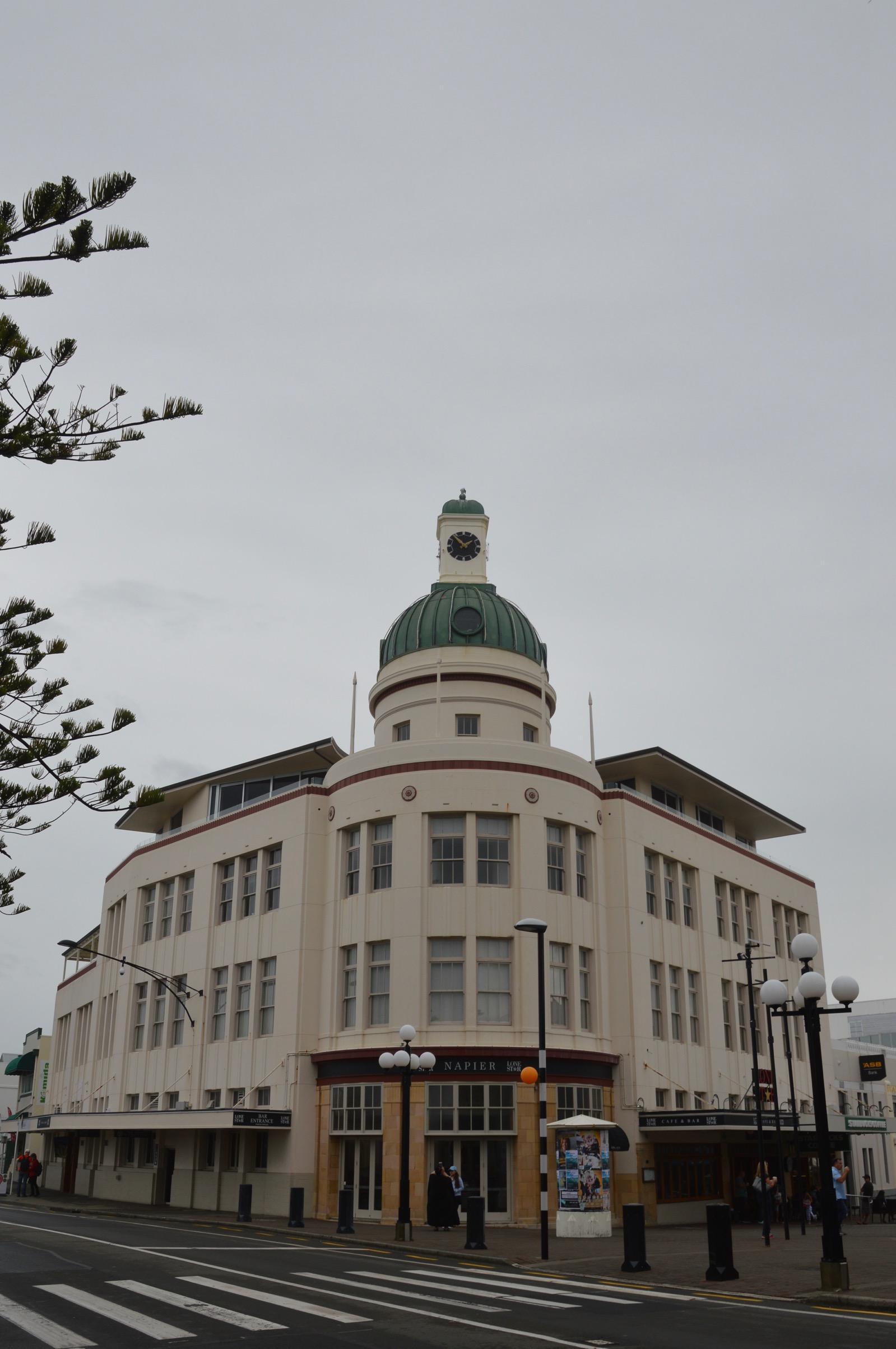 Art Deco in Napier, New Zealand
