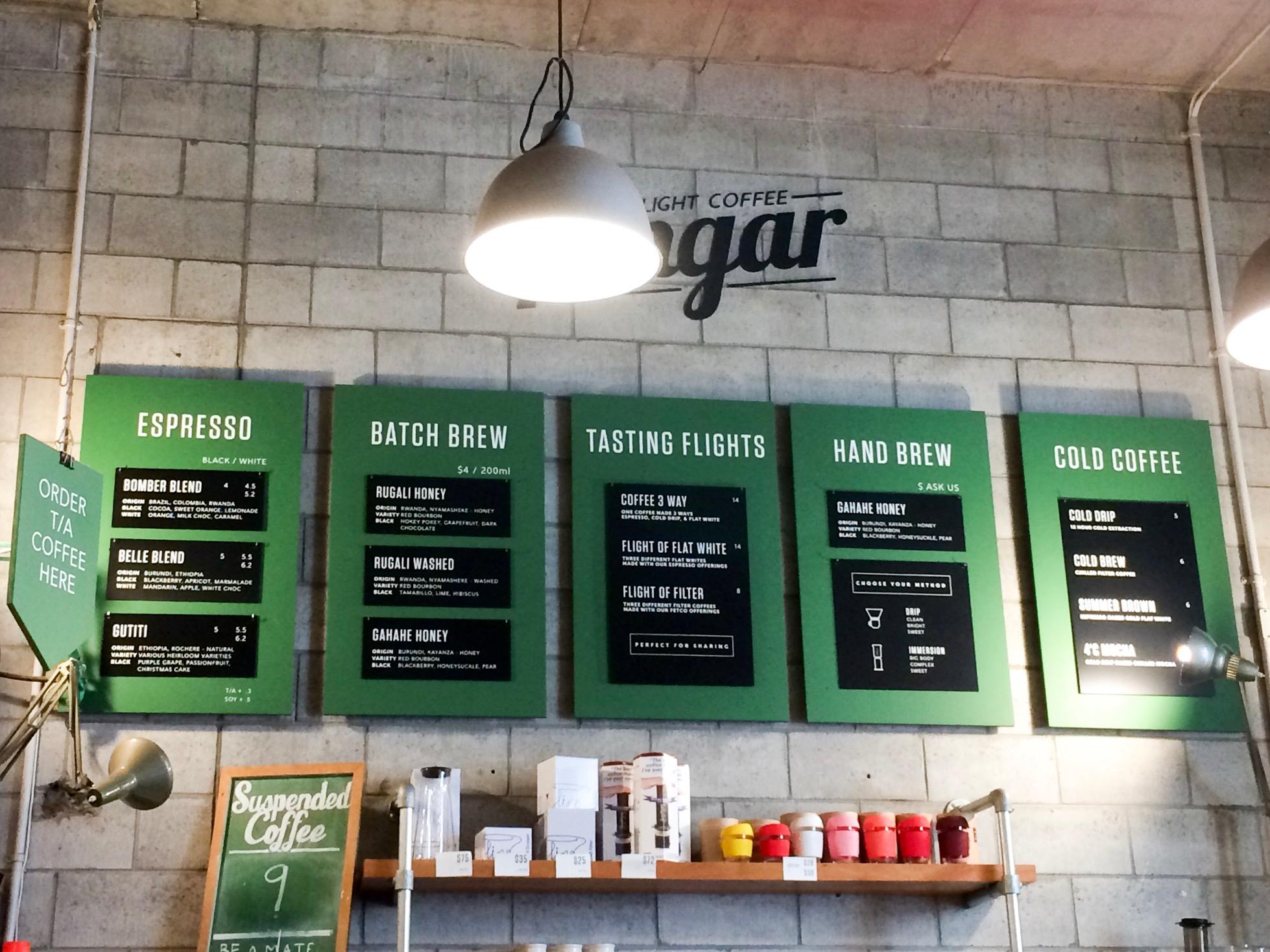 Coffee, Wellington, New Zealand