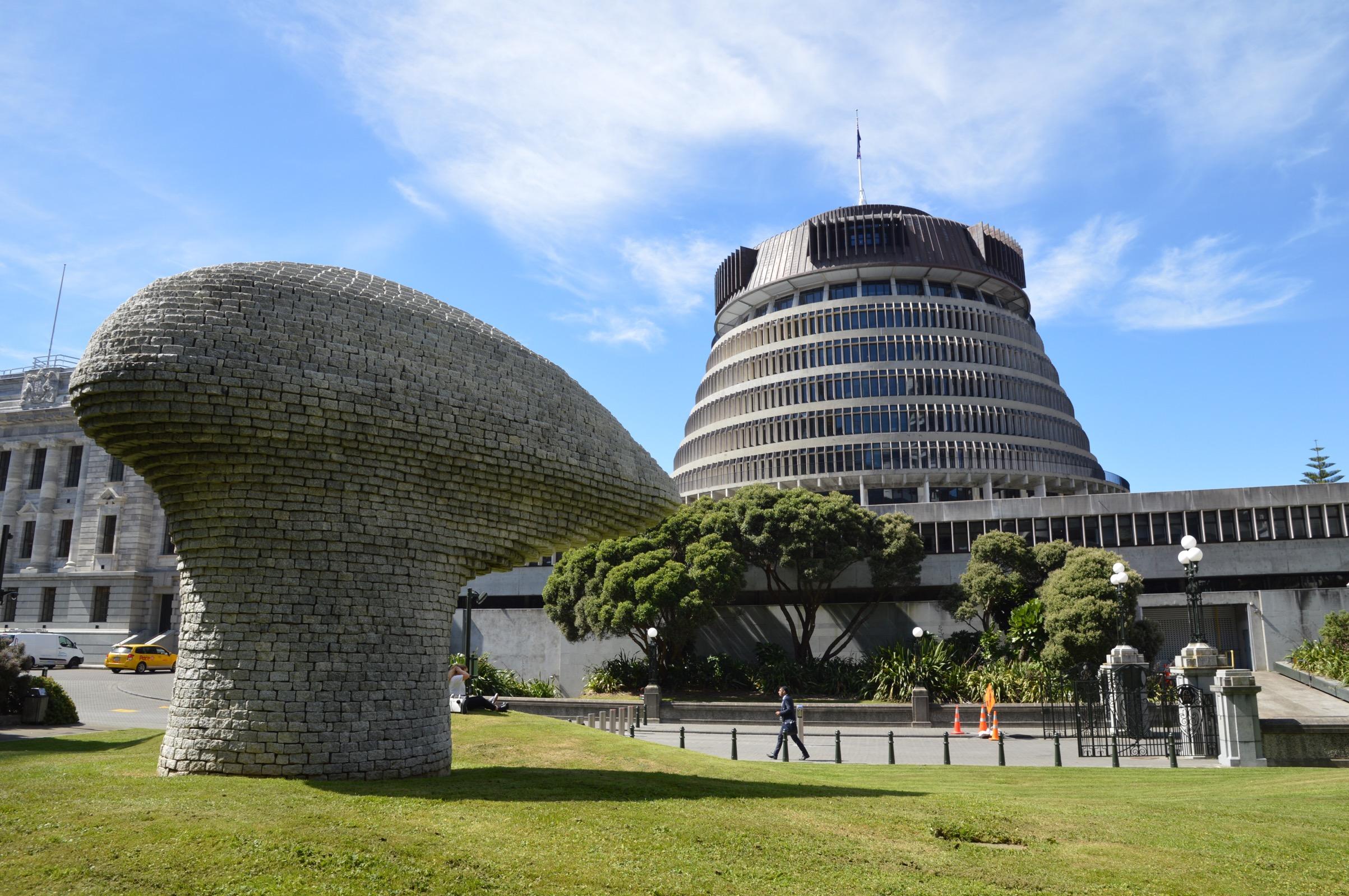 The Beehive, Wellington, New Zealand