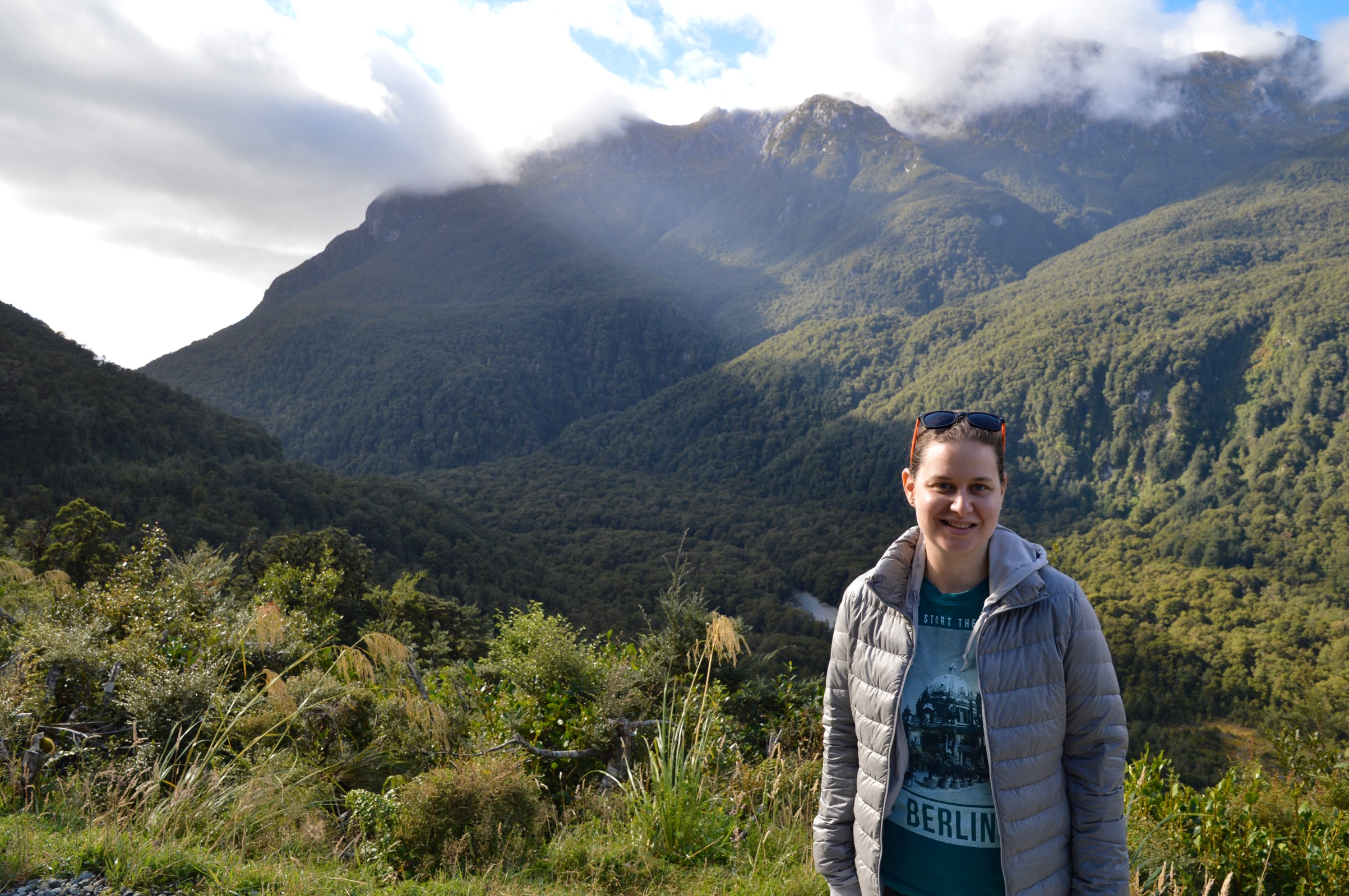 Wilmot Pass, Southern Alps, Fjordland, New Zealand
