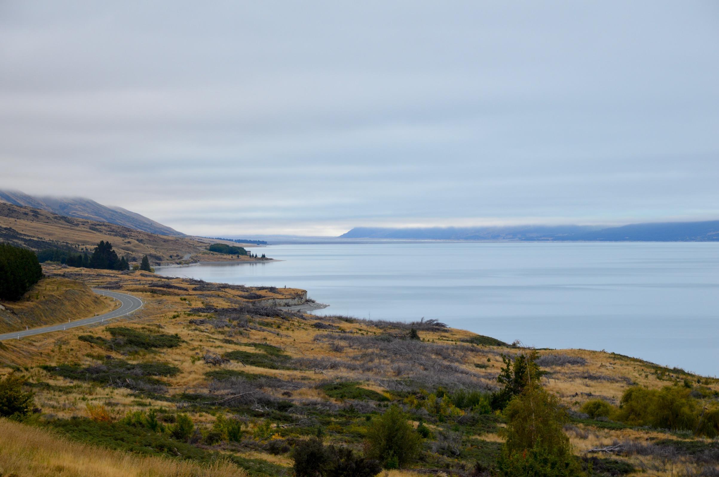 Lake Pukaki, Aoraki/Mount Cook National Park, New Zealand
