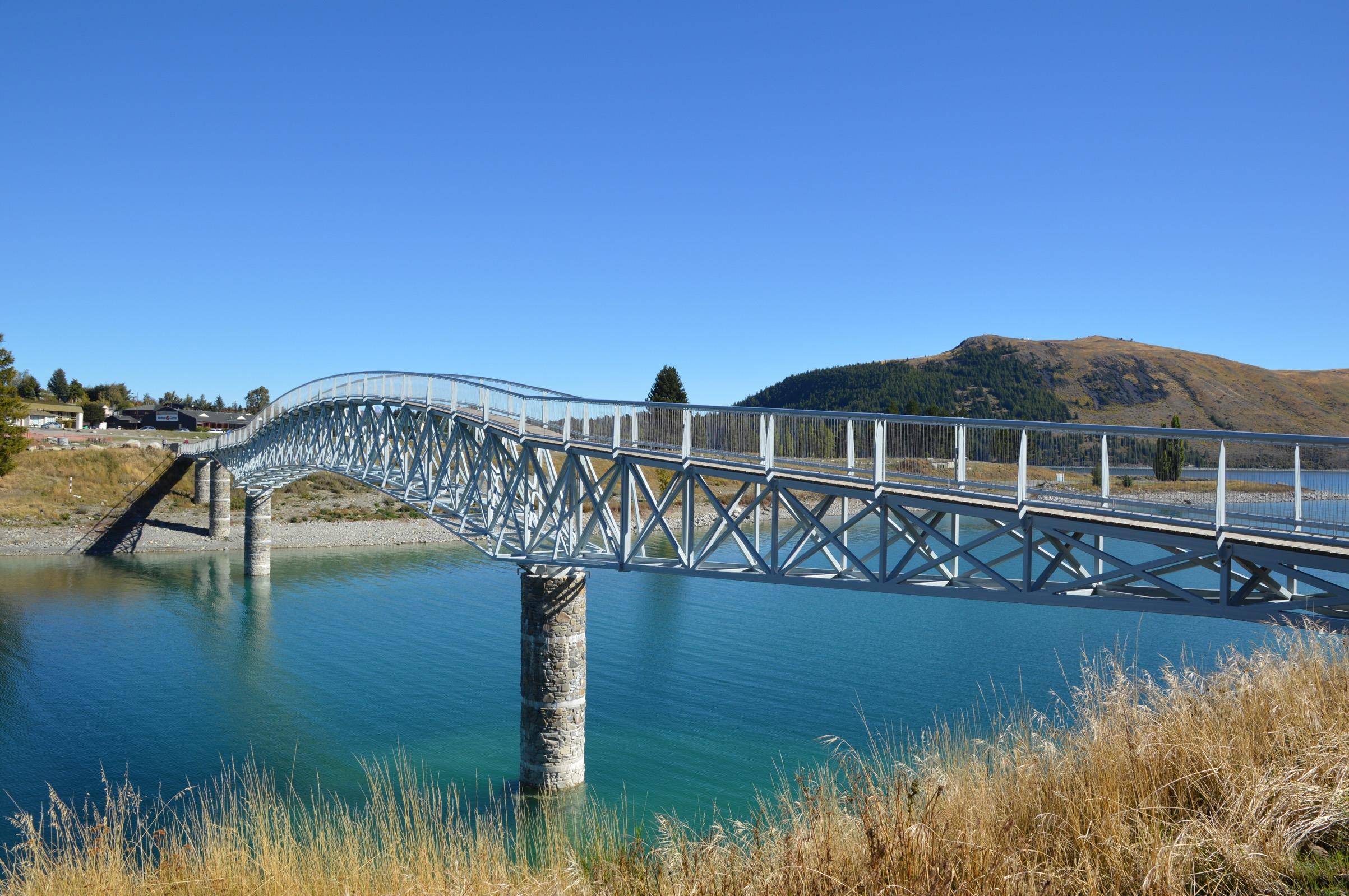Lake Tekapo bridge, New Zealand
