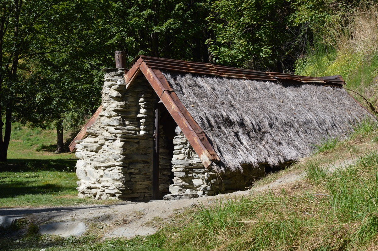 Historic Chinese Settlement, Arrowtown, New Zealand