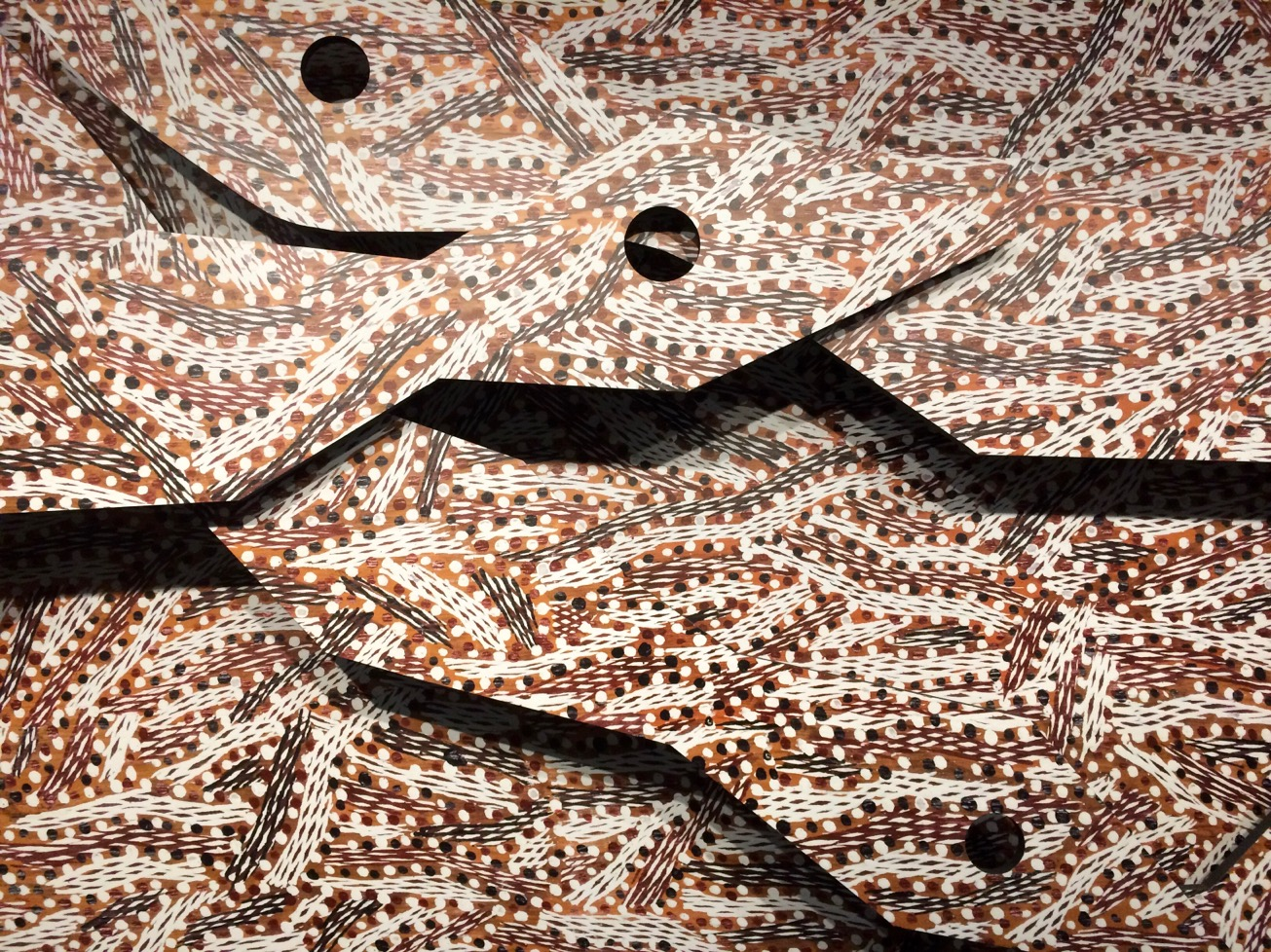 Manbuynga by Barayuwa Mununggurr, MCA, Sydney, Australia