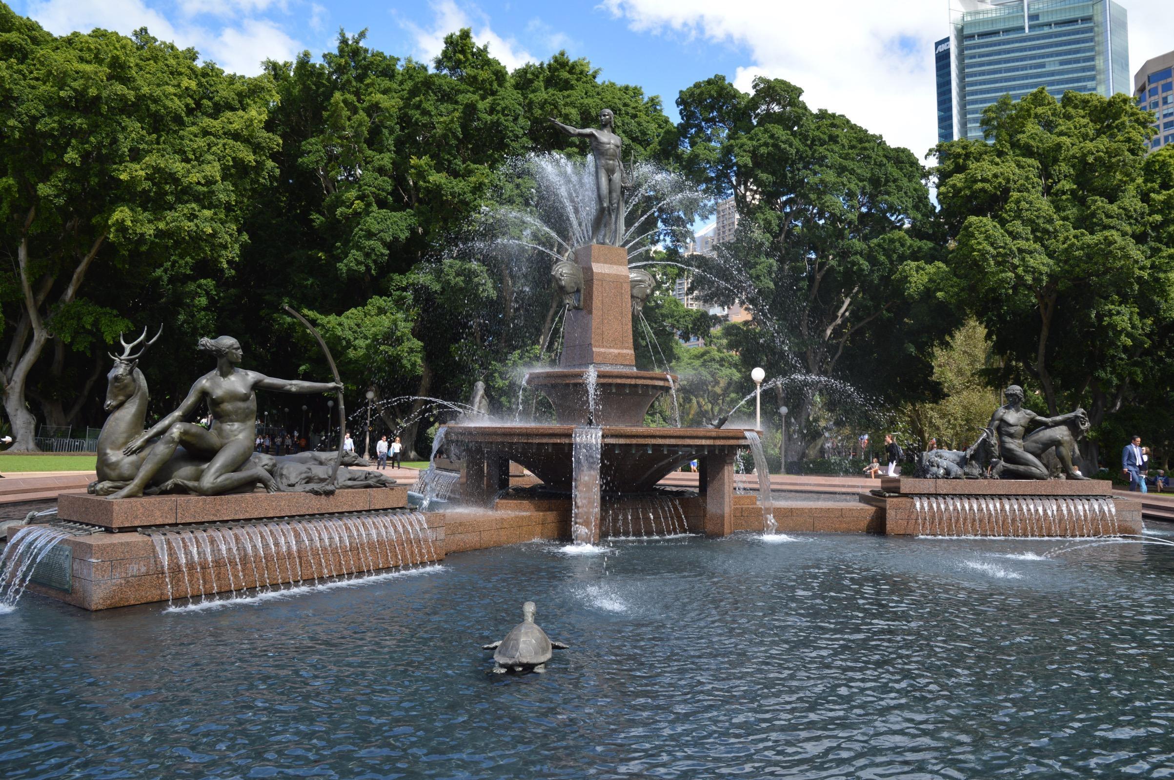 Archibald Fountain, Hyde Park, Sydney, Australia