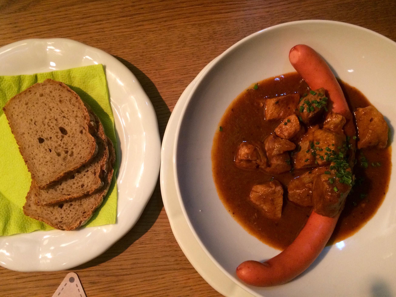 Dinner, Fuxn, Salzburg, Austria