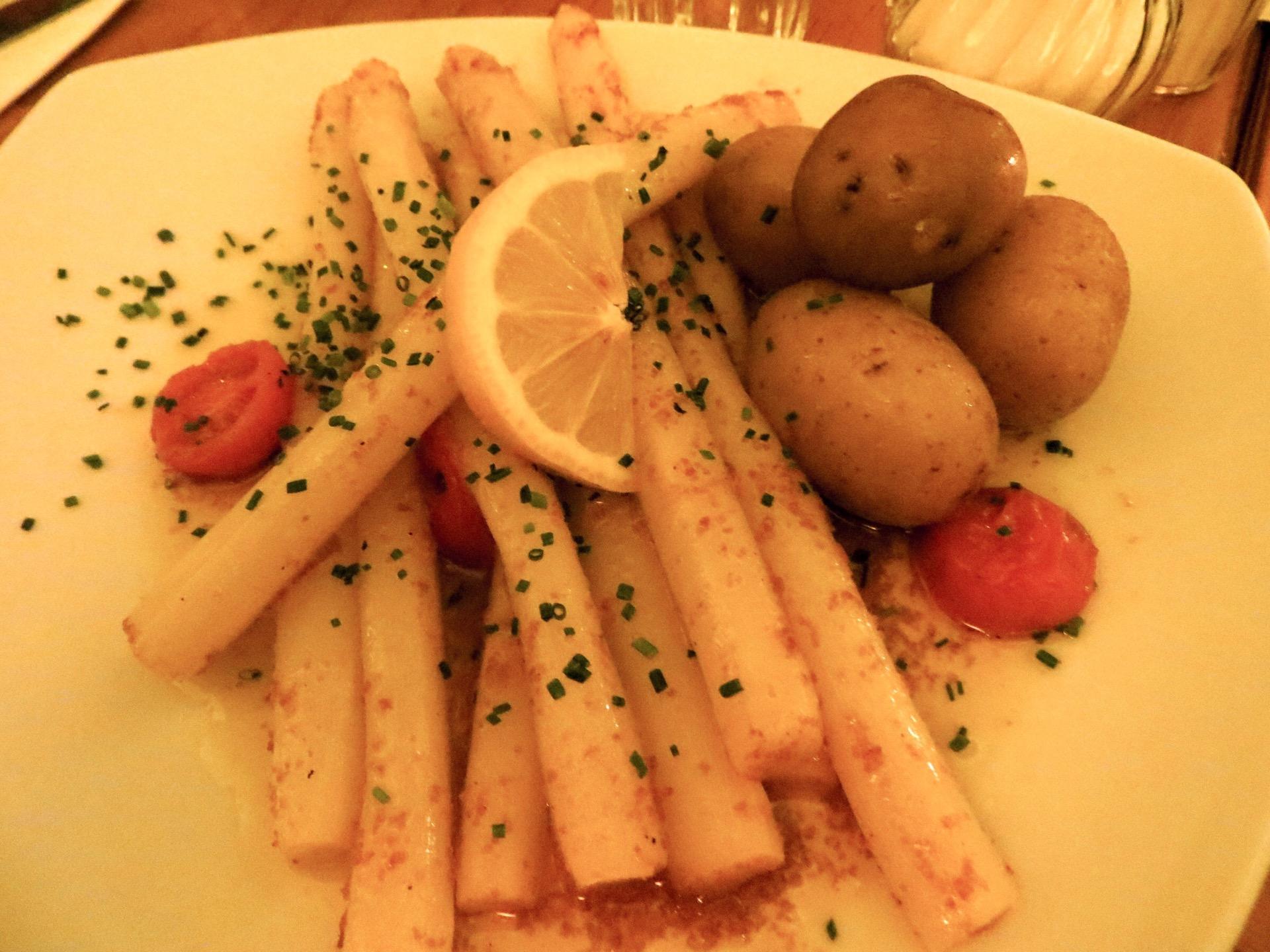 White Spargel (asparagus), Germany