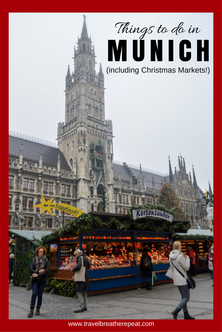 Things to do in Munich, Germany in all seasons including Christmas Markets