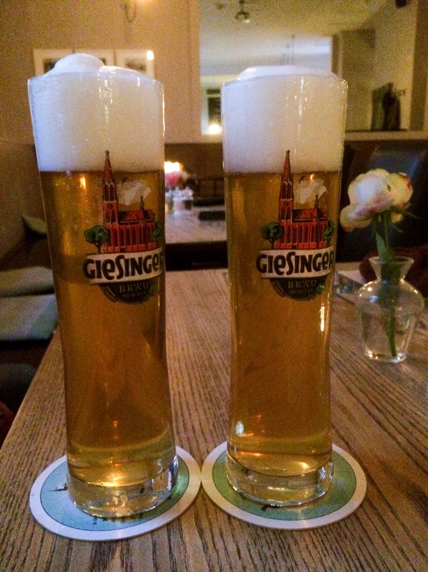 Giesinger beer, Munich, Germany