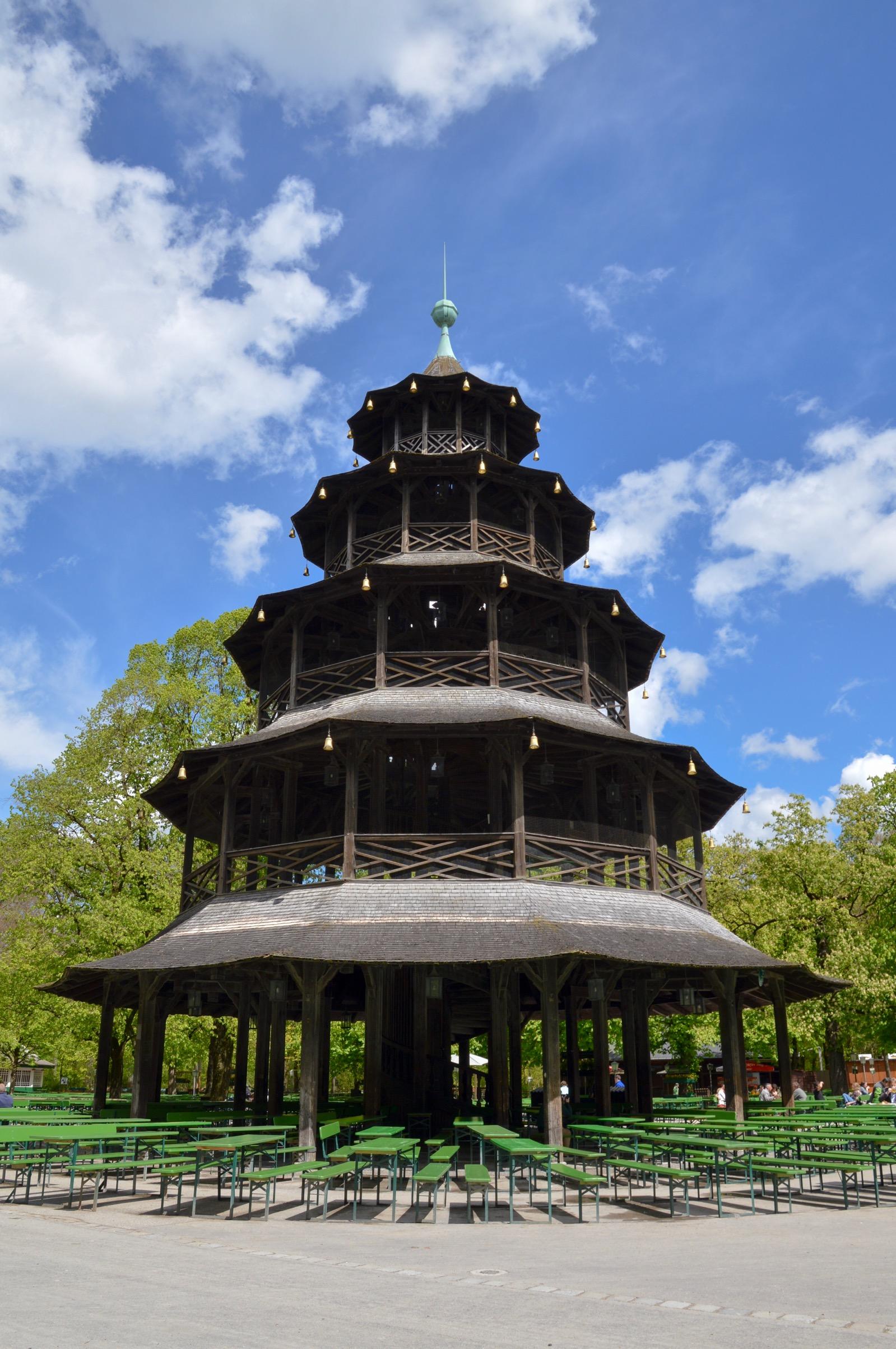 Chinesischer Turm, Munich, Germany