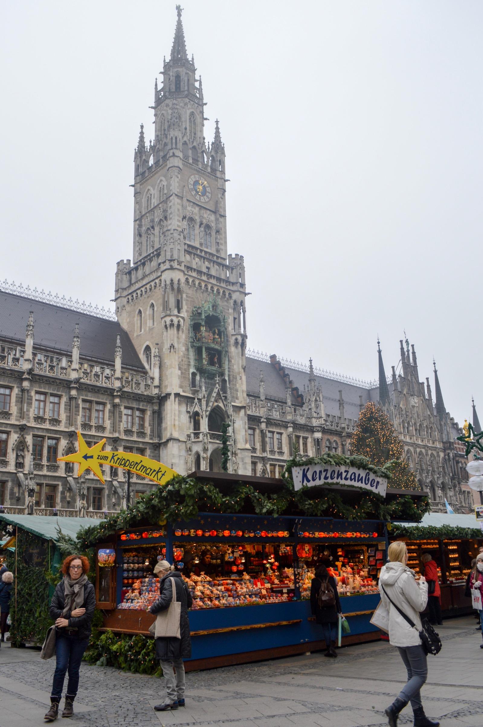 Christmas Market, Marienplatz, Munich, Germany