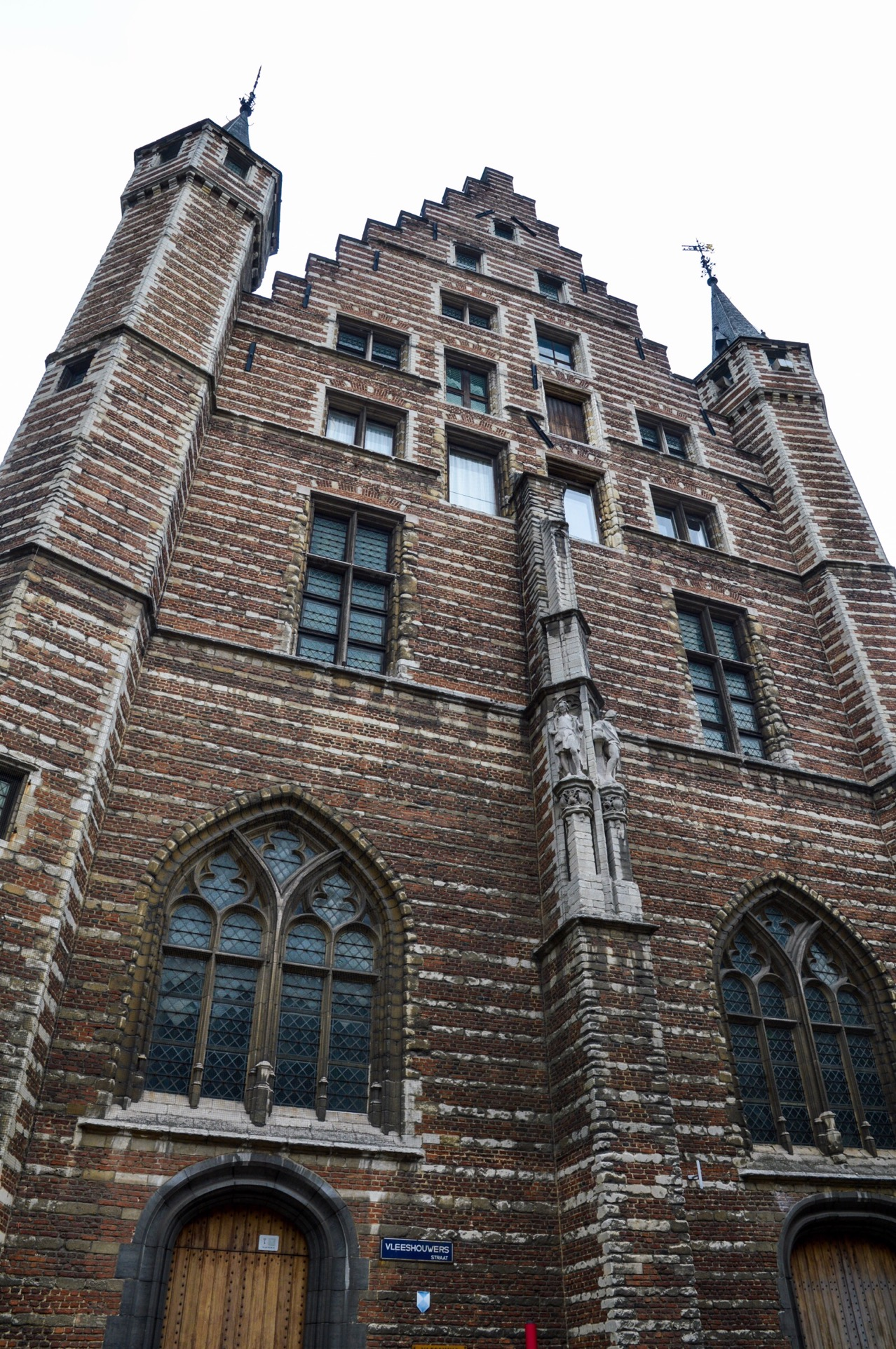 Vleeshuis, Meat House, Butchers' Hall, Antwerp, Belgium