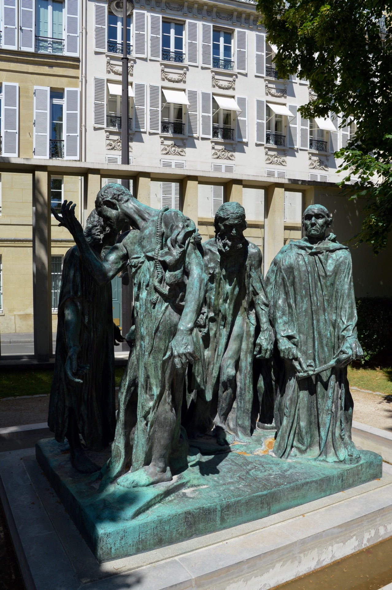 The Burghers of Calais, Rodin Museum, Paris, France