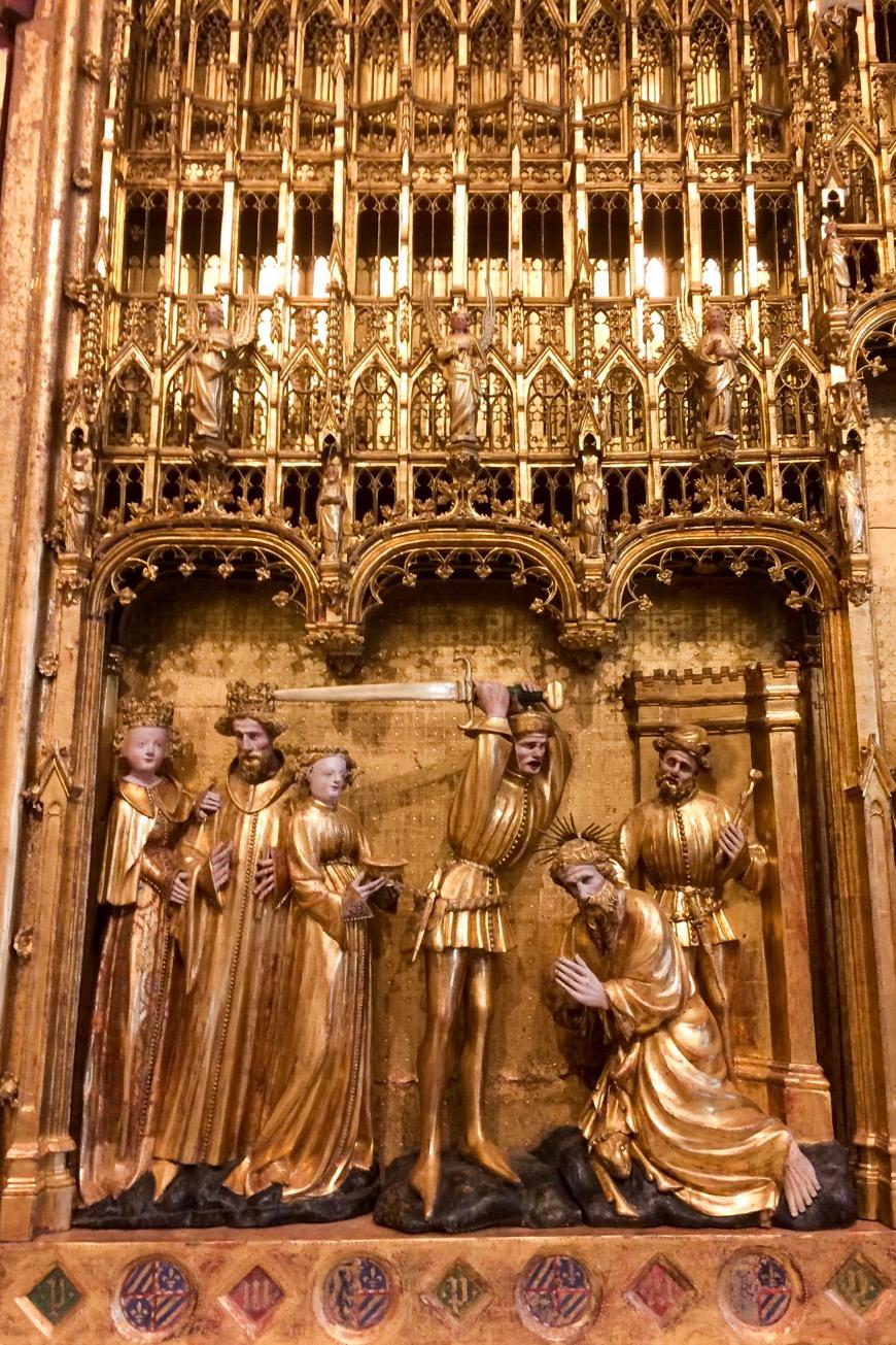 Gold altar panel, Musée des Beaux-Arts de Dijon, France