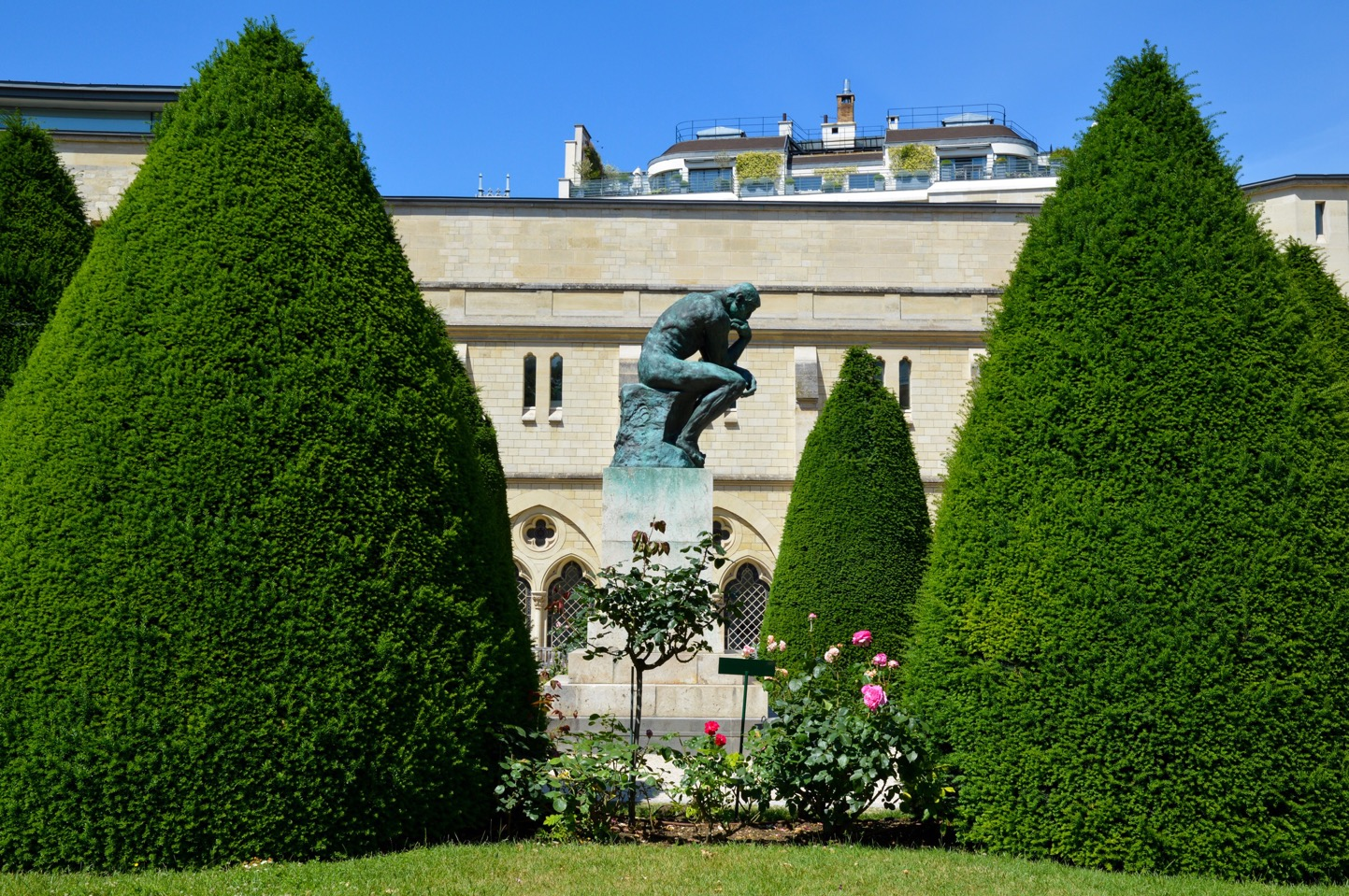 The Thinker, Rodin Museum, Paris, France
