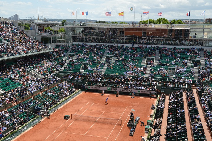 French Open tennis, Roland Garros, Paris, France