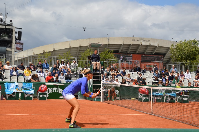 Outer courts, French Open, Roland Garros, Paris, France