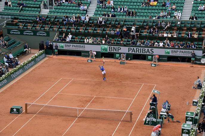 Nadal, French Open tennis, Roland Garros, Paris, France
