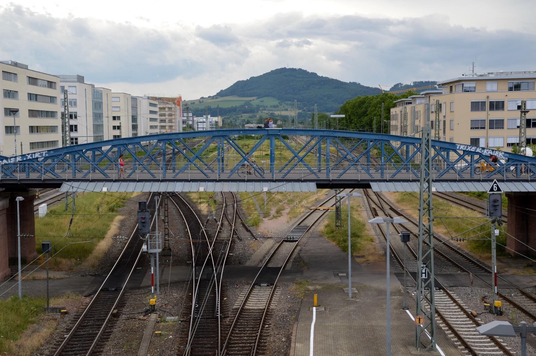 Wiwili Brücke, Freiburg, Germany