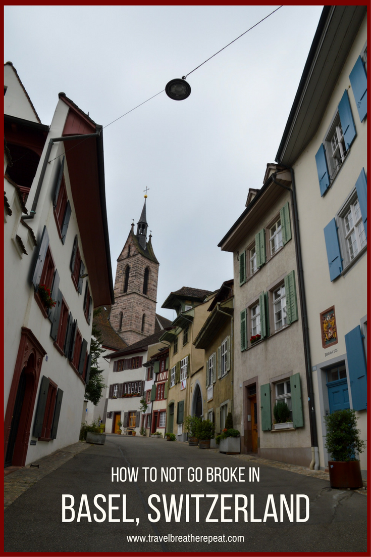 How to not go broke in Basel, Switzerland: recommedations for free things to do and cheap eats