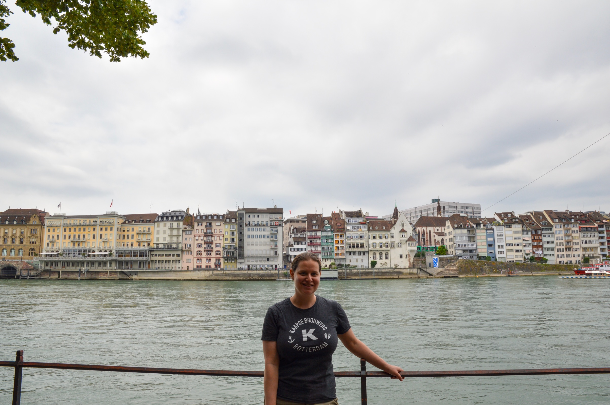 Rhine River, Basel, Switzerland