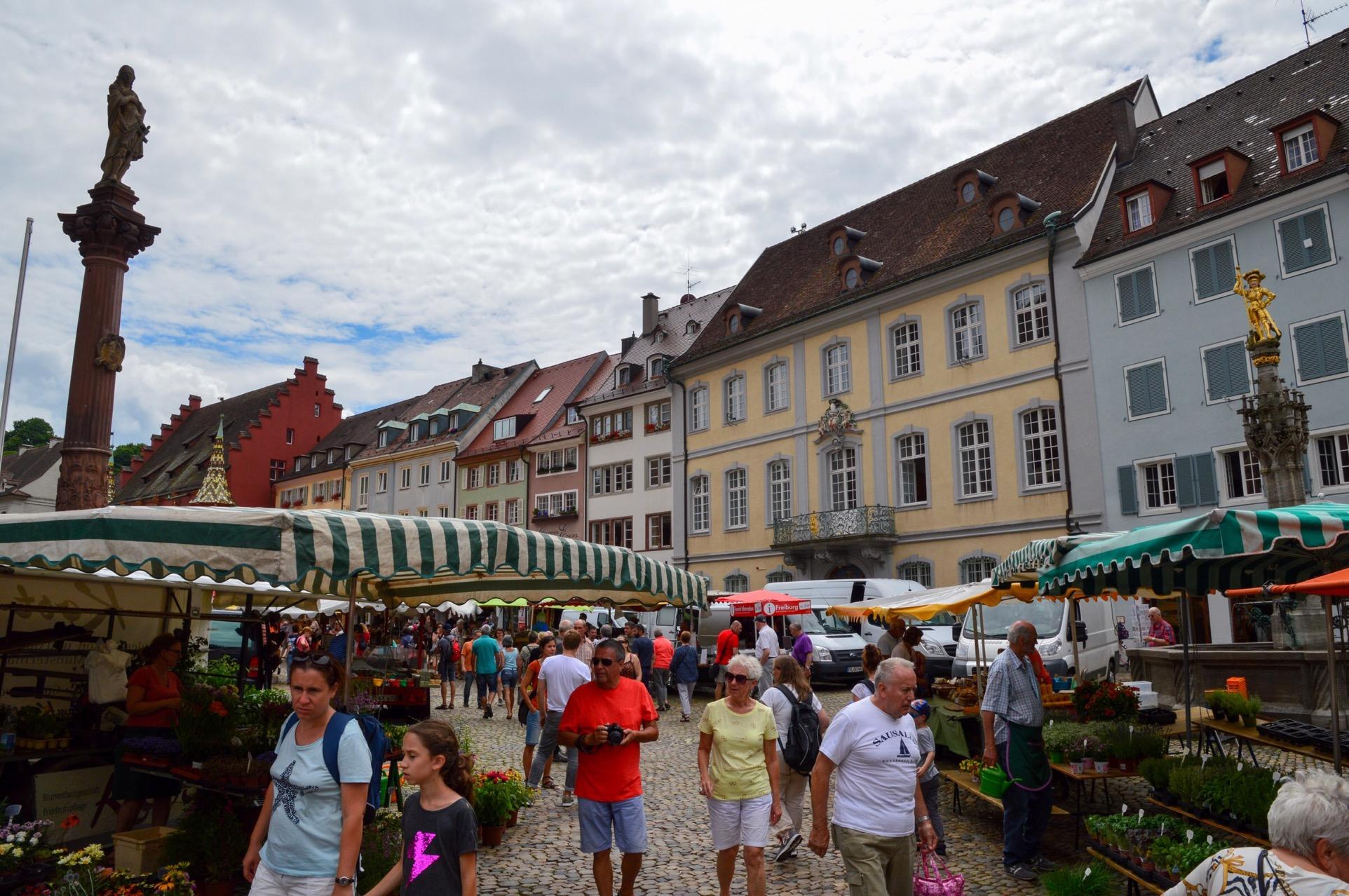 Münsterplatz, Freiburg, Germany
