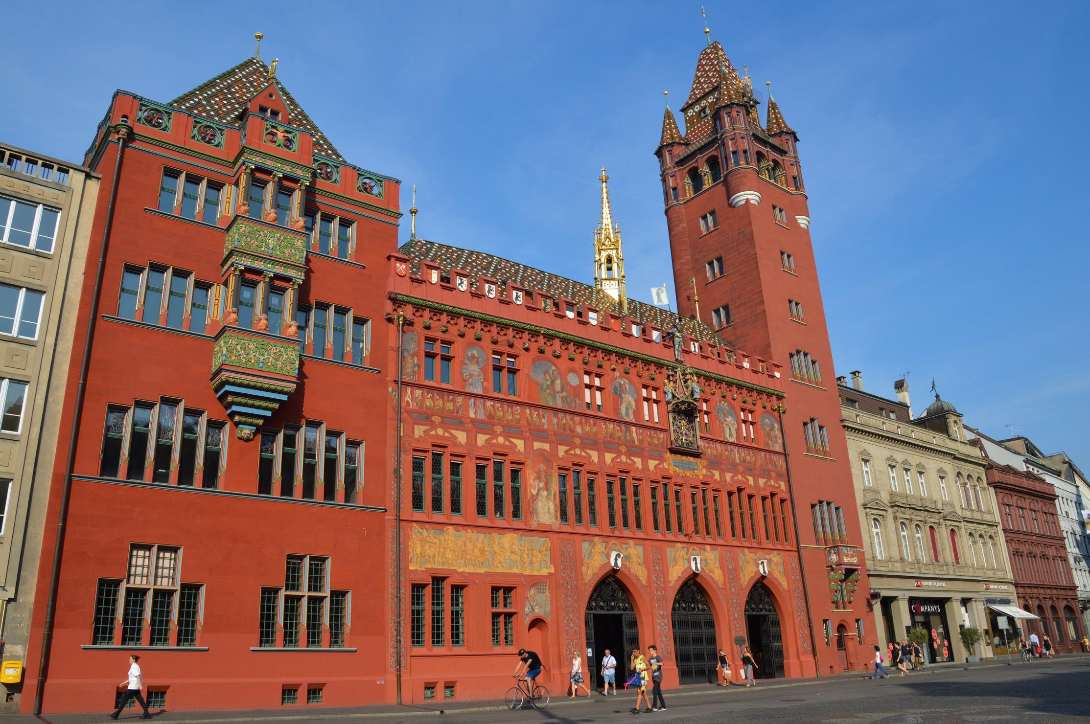 Rathaus Basel-Stadt, Switzerland