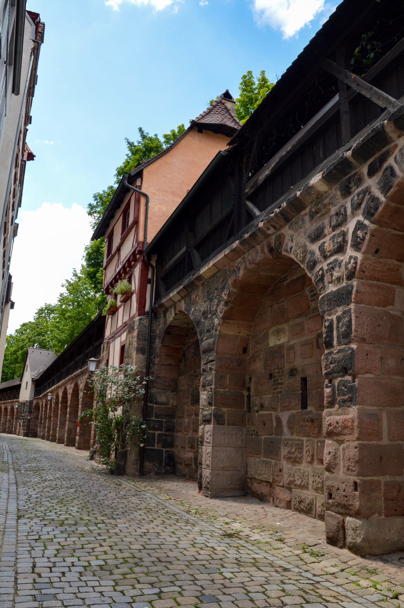 Nuremberg old city walls, Germany