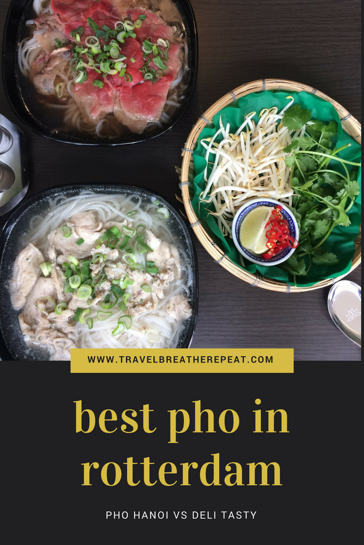 Best pho in Rotterdam Centrum: reviews of Pho Hanoi and Deli Tasty