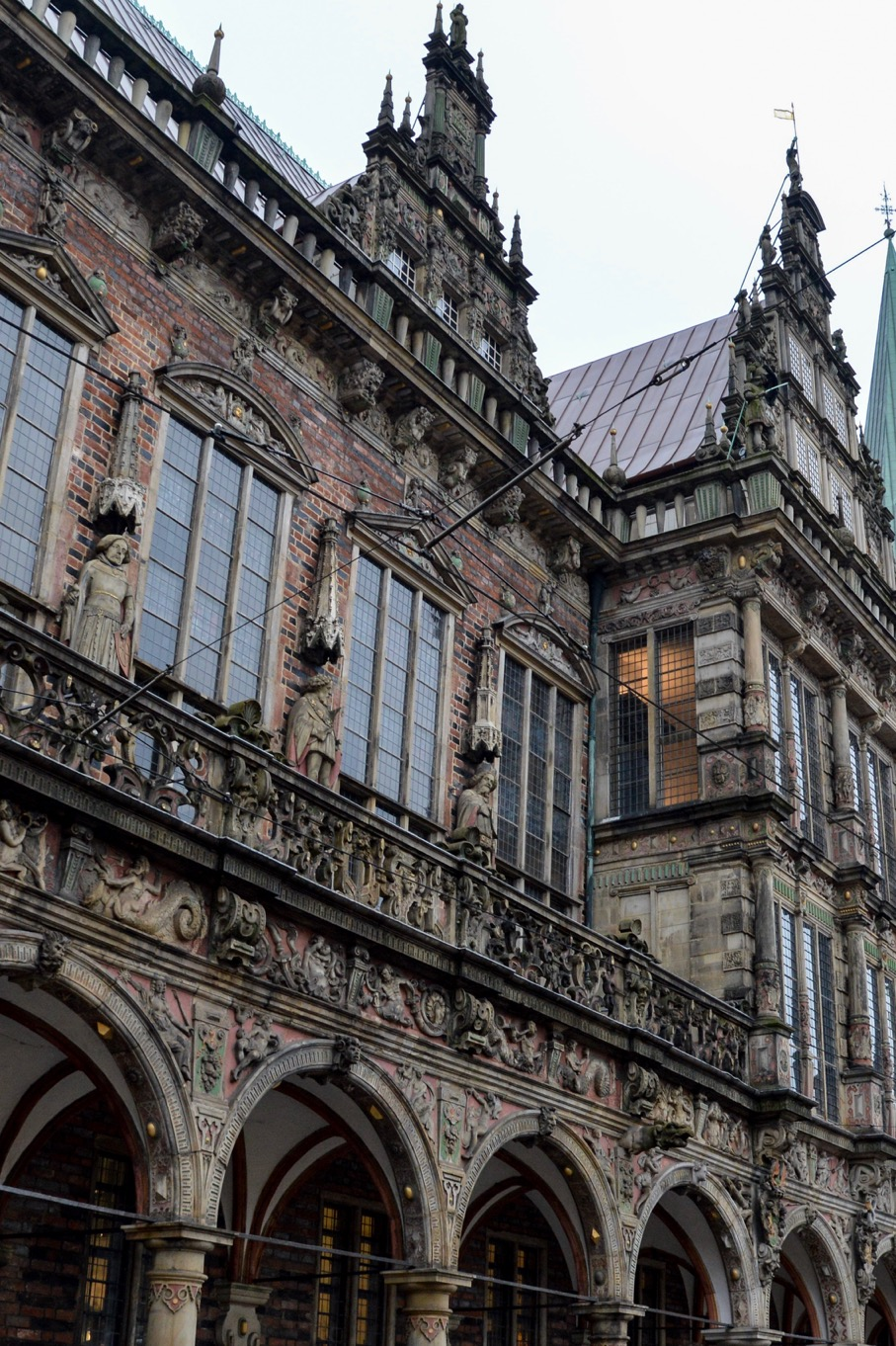 Bremer Rathaus; Bremen Town Hall; Bremen, Germany