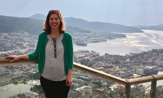 Jennifer in Bergen, Norway