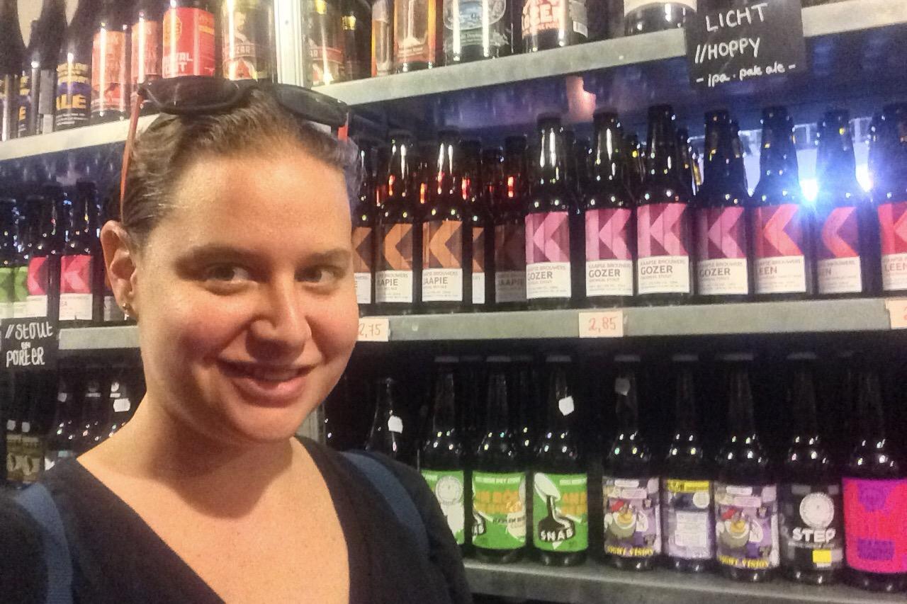 Kaapse Brouwers bottle shop, Fenix Food Factory, Rotterdam, the Netherlands