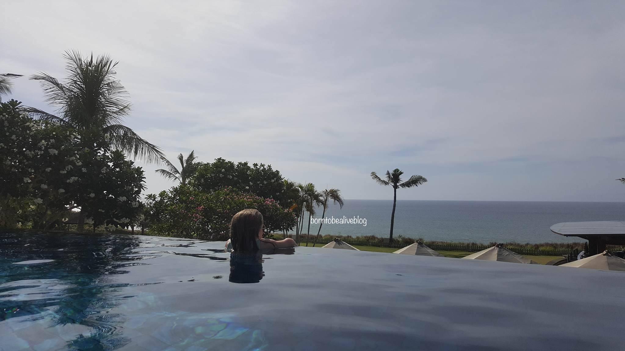 Infinity pool, Bali, Indonesia